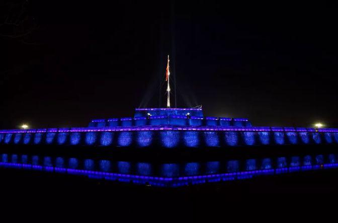 昕诺飞LED建筑照明点亮越南名胜顺化皇室双头螺柱